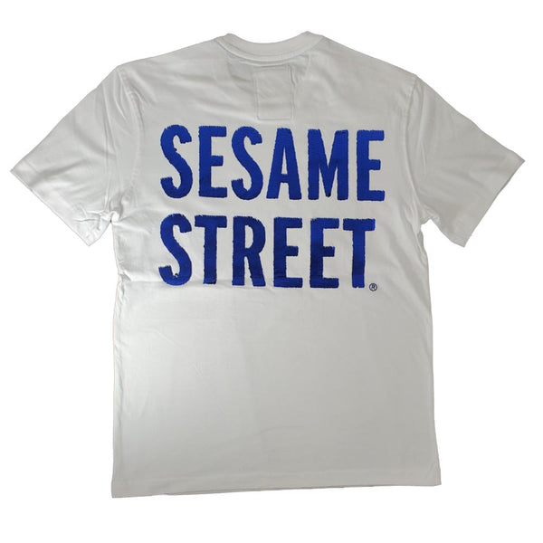 Dekryptic Sesame Street Cookie Monster  white Men T-Shirt TS994MSES
