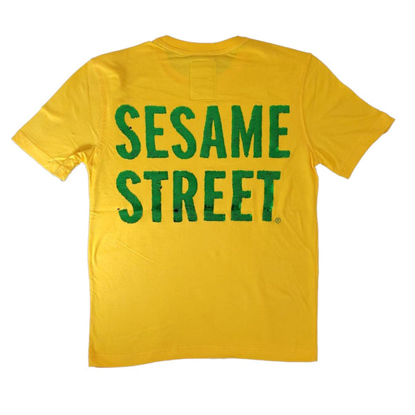 Dekryptic Sesame Street Oscar Yellow Men T-Shirt TS994QSES