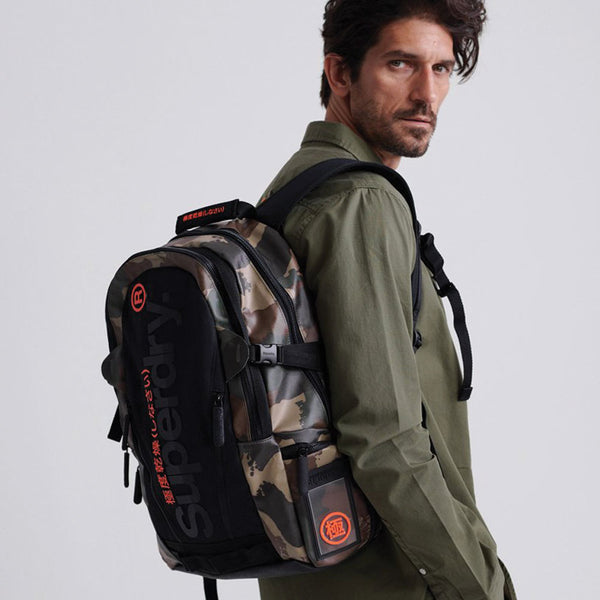 SUPERDRY TARP RUCKSACK Green CAMO MEN BACKPACK M9100009A