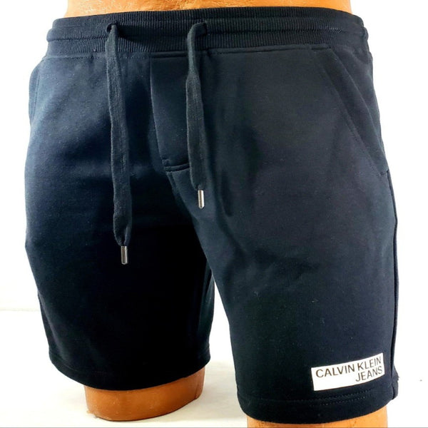 CK Seasonal Basics Black Men SweatT Shorts 41L7588