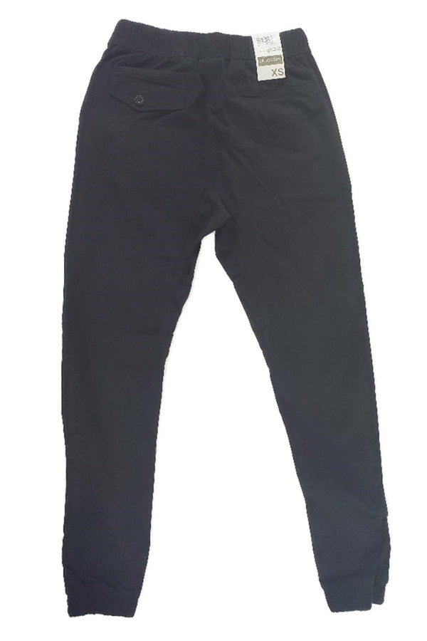 Wto2 Black Twill Women Joggers 17193-6110