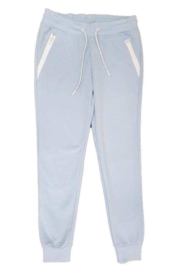 Southpole Tech Fleece Sky Blue Women Sweatpants 18323-1519
