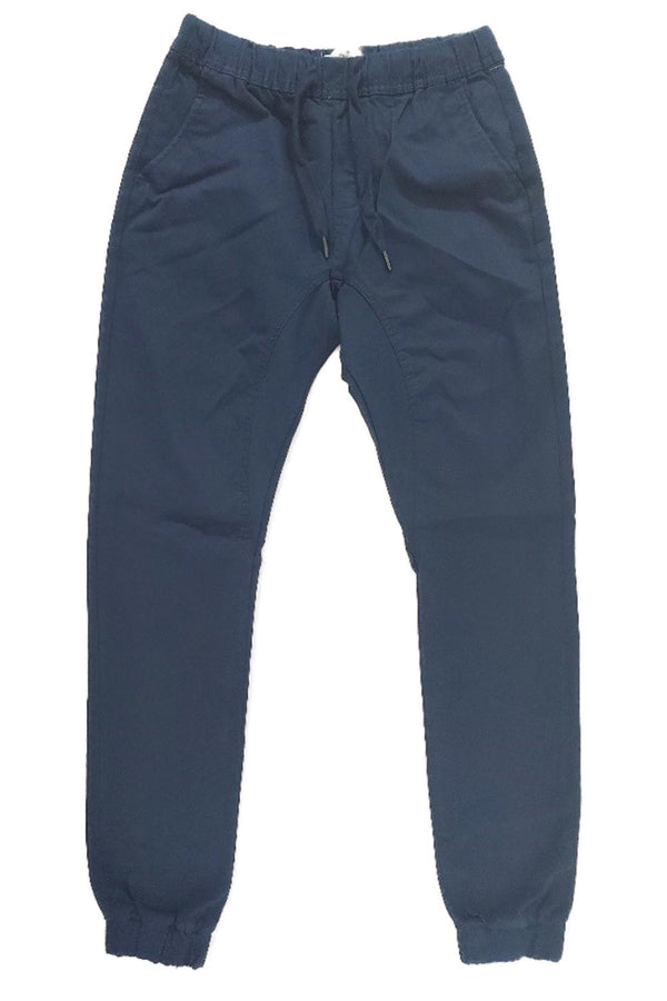 Wto2 Navy Twill Women Joggers 17193-6110
