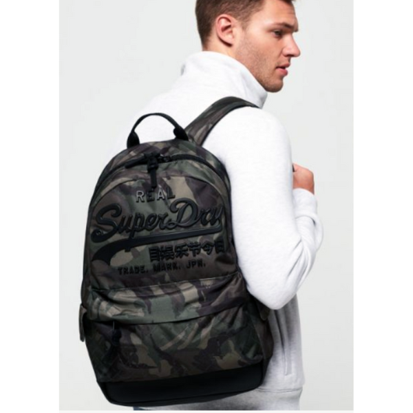 SUPERDRY PREMIUM Goods CAMO BACKPACK M91020MT