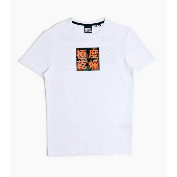 Superdry stacked men t-shirt white M1010038A