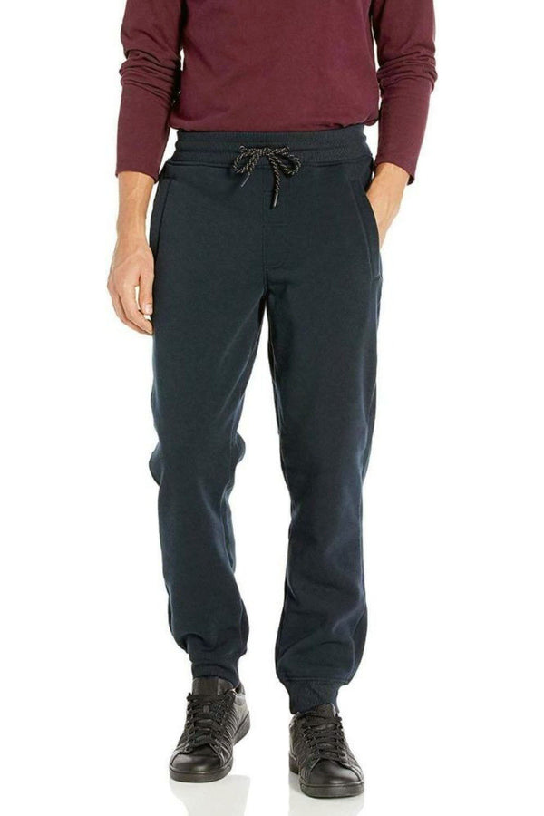 WT02 NAVY MEN JOGGER Fleece Pants 19391-1520