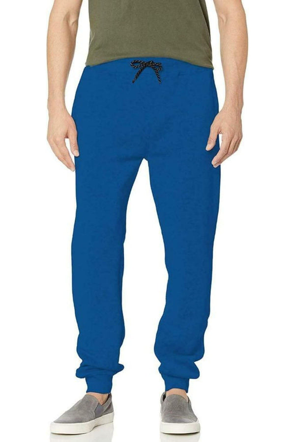 WT02 ROYAL BLUE Men JOGGER FLEECE PHANTS 19391-1520