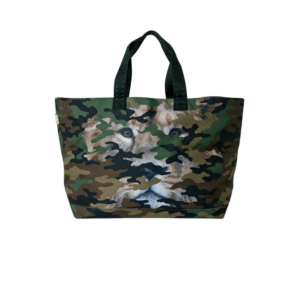 SPRAYGROUND Backpack LION CAMO TOTE BAG 910T2285NSZ