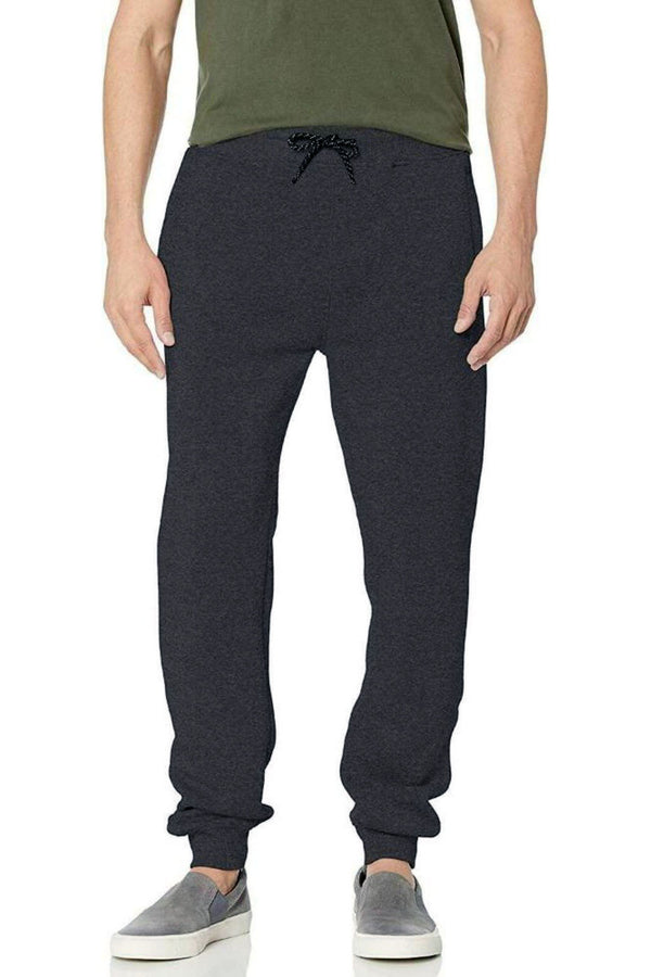 WT02 HEATHER CHARCOAL MEN JOGGER FLEECE Pants 19391-1520