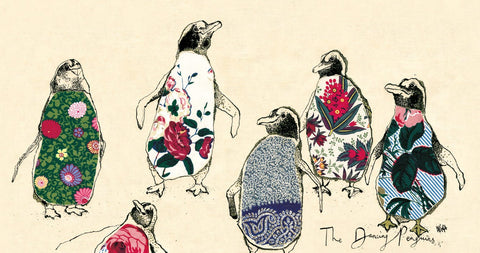Dancing Penguins By Anna Wright - LEOFRAMES