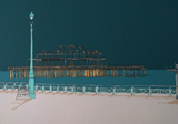 Hove Esplanade and Two Piers By Alej ez - LEOFRAMES