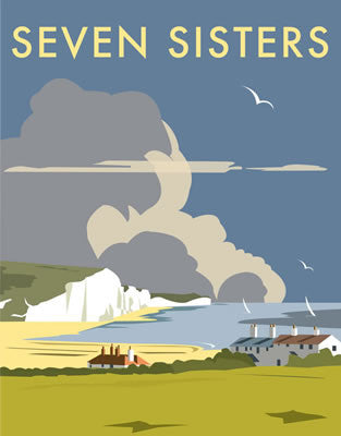 Seven Sisters, Sussex By Dave Thompson - LEOFRAMES
