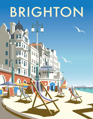 Brighton Beach By Dave Thompson - LEOFRAMES