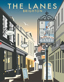 The Lanes, Brighton, East Sussex By Dave Thompson