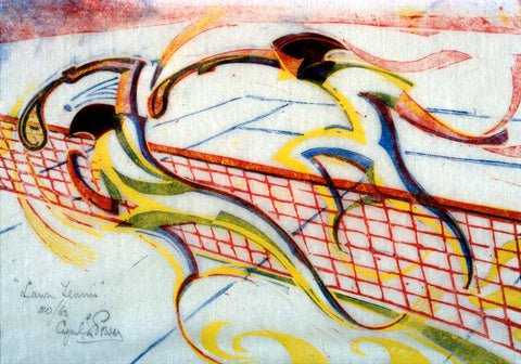 Lawn Tennis By Cyril Power