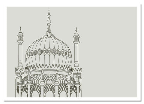 Brighton, royal pavilion,print,art,marcus duck,