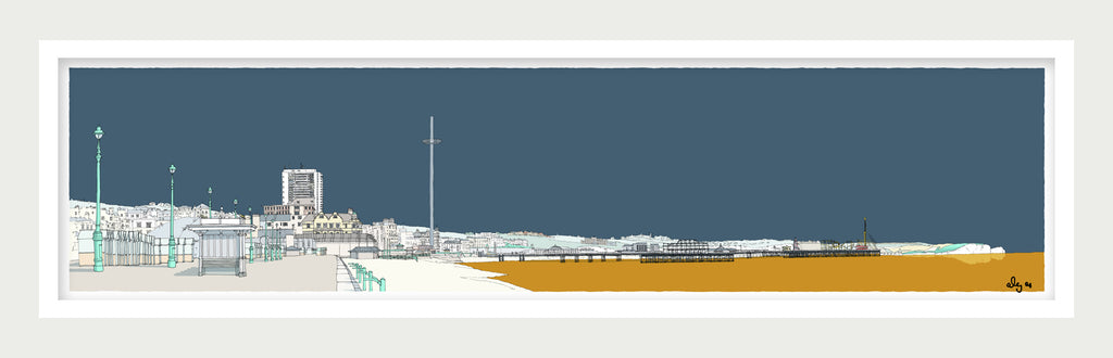 Hove and Brighton Promenade By Alej ez (Updated view) - LEOFRAMES