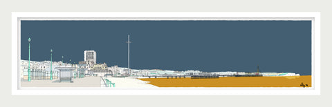 Hove and Brighton Promenade By Alej ez (Updated view)