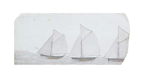 Alfred Wallis - Three Sailing Boats in a Line - LEOFRAMES
