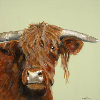 'Highland' cow limited edition of 50 By Andy Shattock - LEOFRAMES