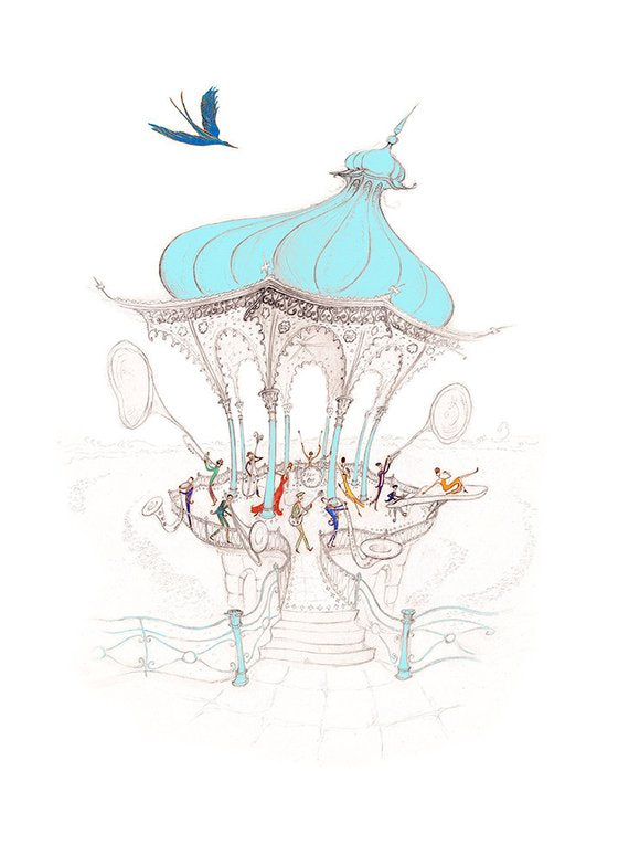 Be Bop Birdcage By Harriet Butler - LEOFRAMES
