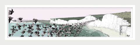 Birling Gap Starling Murmuration By Alej ez - LEOFRAMES