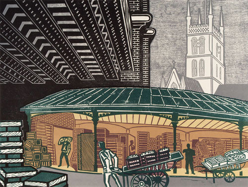 Edward Bawden - Borough Market - LEOFRAMES