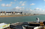 Panoramic image of Brighton taken from Bighton Pier(CANVAS)