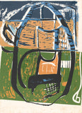 Cane Chair By Peter Lanyon - LEOFRAMES