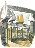 Eric Ravilious - Model Ships and Railways