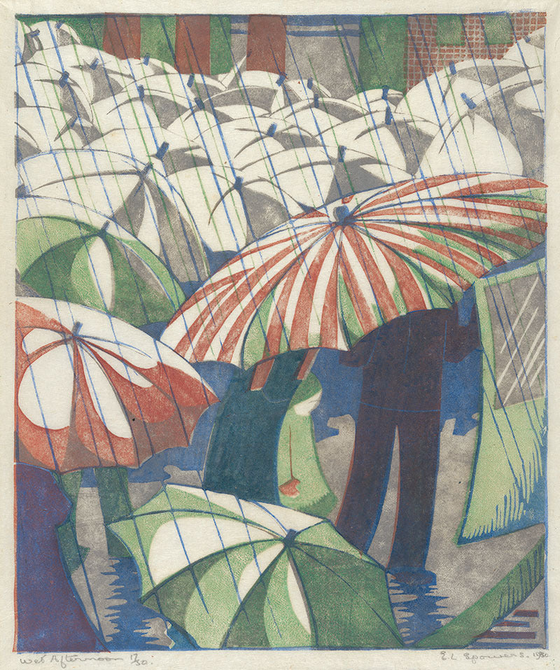 Ethel Spowers - Wet Afternoon - LEOFRAMES