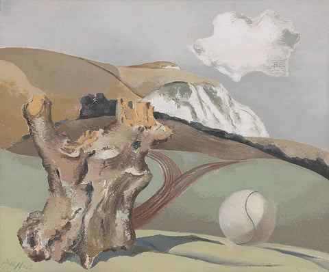 Paul Nash - Event on the Downs - LEOFRAMES