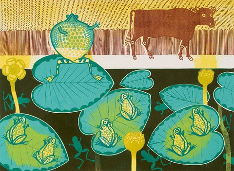 Edward Bawden - A Frog and an Ox - LEOFRAMES