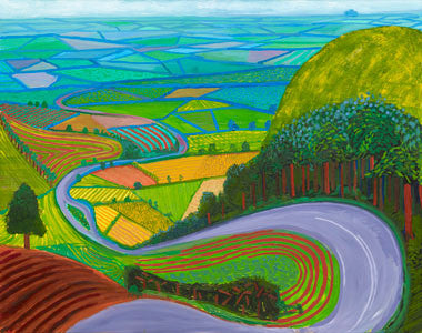 Garrowby Hill By David Hockney
