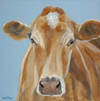 'Honey' Cow By Andy Shattock - LEOFRAMES