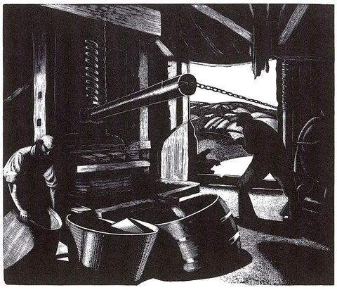 Clare Leighton - October: Cider-Making - LEOFRAMES