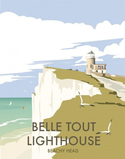 Belle Tout Lighthouse By Dave Thompson - LEOFRAMES