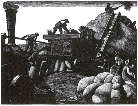 Leighton, Clare - March: Threshing - LEOFRAMES