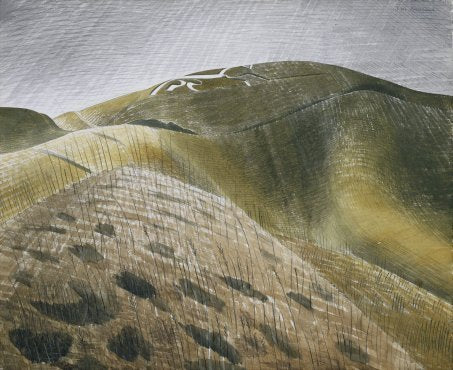 Vale of the White Horse By Eric Ravilious