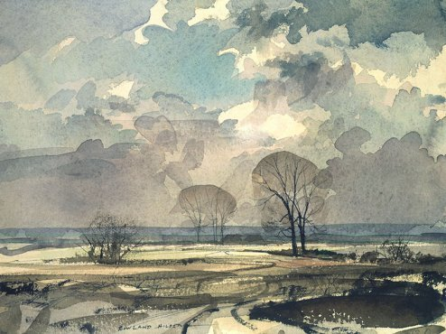 Rowland Hilder - A February Day