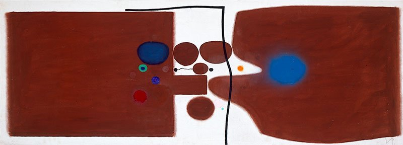 Victor Pasmore - Brown Symphony