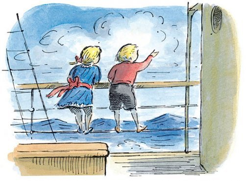 Edward Ardizzone - Tim and Lucy (orig. untitled) - LEOFRAMES
