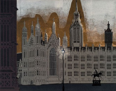 Edward Bawden - Palace of Westminster - LEOFRAMES