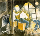 Submarine Controls By Eric Ravilious