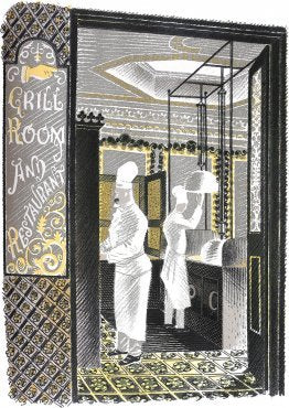 Eric Ravilious - Restaurant and Grill Room