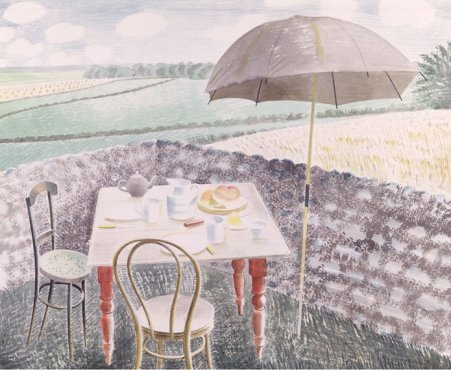 Eric Ravilious - Tea at Furlongs - LEOFRAMES