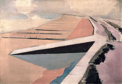Paul Nash ,shore line