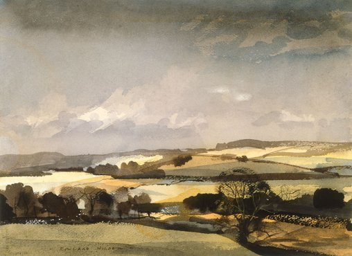 Rowland Hilder - The Downs - LEOFRAMES