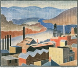 Blanche Lazzell - The Monongahela at Morgantown - LEOFRAMES