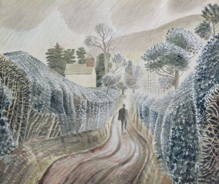Eric Ravilious - Wet Afternoon - LEOFRAMES